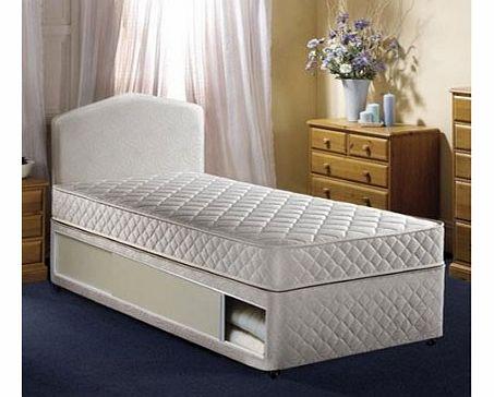 Single divan bed with storage for Divan unwind