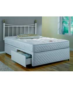 Double divan bed with4 drawers for Double divan with 4 drawers