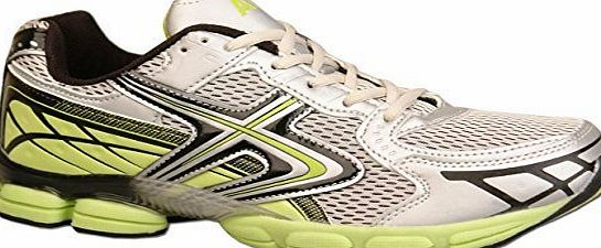 Airtech Dek Mens Shock Absorbing Running Trainers Jogging Gym Trainer Gre/Green Size 9