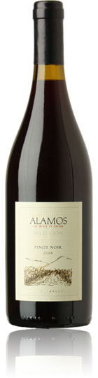 The ripe soft Pinot Noir grapes have been sourced from Bodega Catena Zapatas high-altitude vineyards in Mendoza. Attractive cherry and fig fruit flavours are finely combined with a rich silky texture and a long supple finish. - CLICK FOR MORE INFORMATION