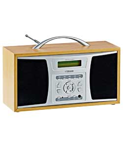alba pd2 digital radio review compare prices buy online. Black Bedroom Furniture Sets. Home Design Ideas
