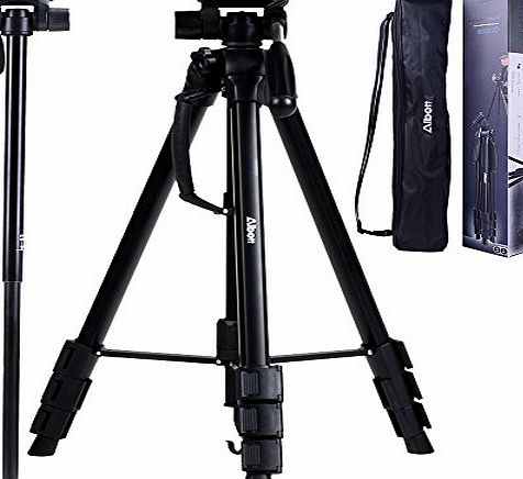 Albott 70`` Aluminum Lightweight Camera Travel Tripod Monopod with Carry Bag