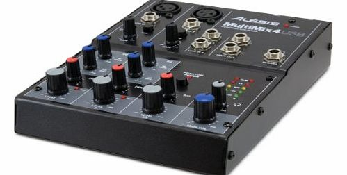 Alesis Multi-Mix 4 USB Four-Channel USB Mixer product image