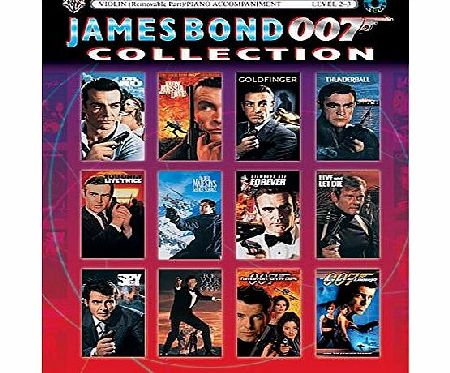 James Bond 007 Collection for Strings: Violin (with Piano Acc.) (Book amp; CD)