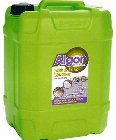 Algon Ltd Algon 20L Organic Path and Patio Cleaner Concentrate Drum