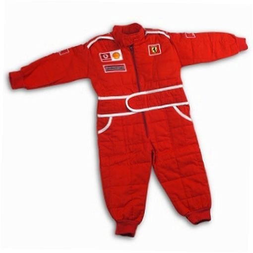 The Kids Driver Overall is a faithful replica of the race overall worn