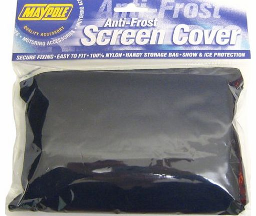 1 X Anti Frost Snow Ice Windscreen Cover Shield Protector Universal + Carry Case