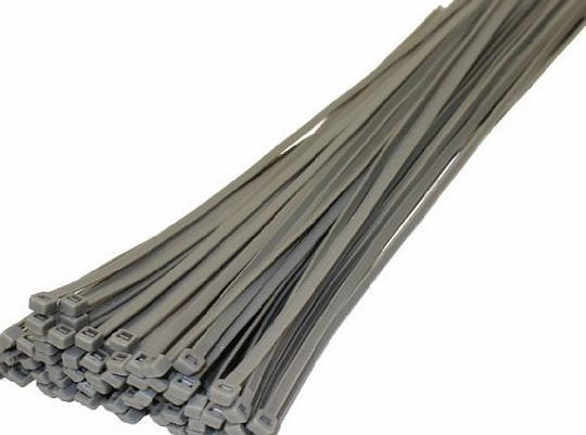 Buy 2 Get 1 Free 50 X Silver Grey Cable Ties 370Mm X 4.8Mm Wheel Trims Hub Cap