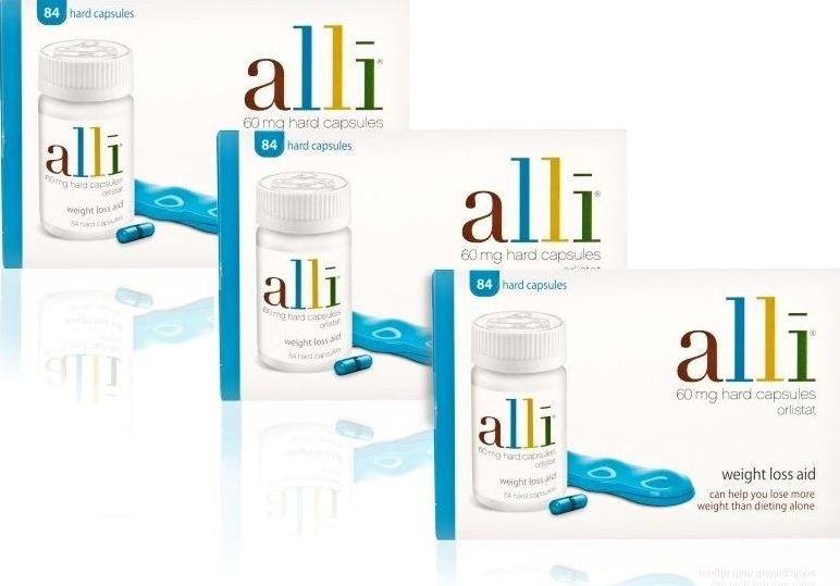 Alli, 2102[^]0054379 Capsules - Triple Pack
