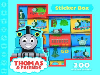 Alligator Books Thomas the Tank Engine sticker box product image