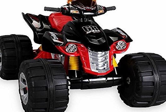 ALLKINDATOYS RIDE ON QUAD BIKE ELECTRIC CHILDRENS 12V ATV BATTERY TOY CAR SCOOTER