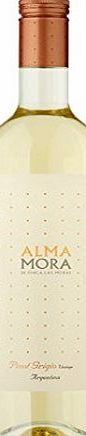 Alma Mora Pinot Grigio Argentinian White Wine (12 x 75cl Bottles)