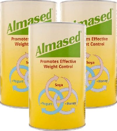 Almased, 2102[^]0082430 Powder 500g - Triple Pack
