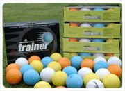 ALMOST GOLF P3 PRACTICE GOLF BALLS 10 BOX YELLOW