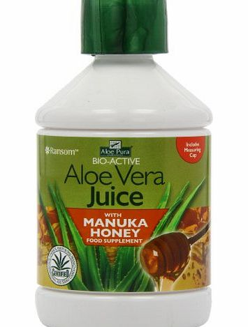 Aloe Pura Aloe Vera Juice and Manuka Honey, 500ml product image