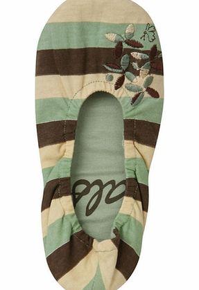 slippers for women. Women` Ethnic Stripe
