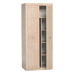 Alstons - Lattice 2 Door Wardrobe with Fitted product image