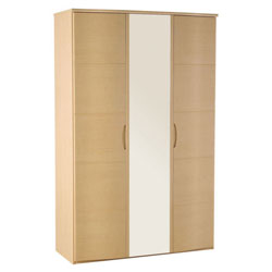 Alstons Synergy Large 3 Door Wardrobe With Alstons Synergy 4