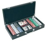 Altai Professional 300 Piece Poker Set with Wood Effect Carry Case