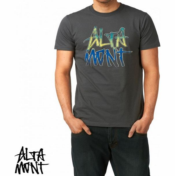 Altamont Mens Altamont Sunshrine T-Shirt - Charcoal product image