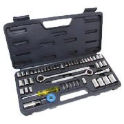 Am-Tech 52pc Budget Socket Set product image
