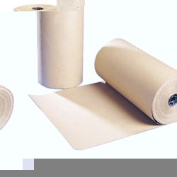 Strong, thick brown paper for packaging 300 metres per roll 70gsm pure kraft. Packaging Wrap Model: MG-750 - CLICK FOR MORE INFORMATION