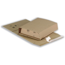 Time saving high quality packaging that is variable in height (up to 90mm), ideal for mailing A4 books and catalogues Strong self-adhesive seal Tear open strip around packaging for easy opening 100 percent recyclable Quantity 25 Internal WxDxH: 300x2 - CLICK FOR MORE INFORMATION