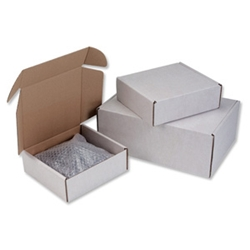 Flat packed, easy to assemble oyster coloured mailing boxes Manufactured from strong corrugated board Available in 3 sizes for various applications Packed 10 This product is made from over 50% Recycled material. Mail Cartons Model: PPAK-06-03 - CLICK FOR MORE INFORMATION