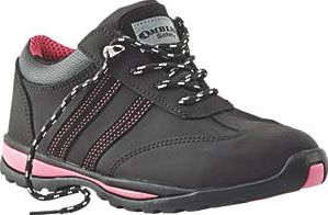 Amblers, 1228[^]78190 FS47 Ladies Safety Trainers Black Size 4