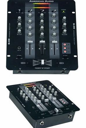 American Audio 3-Channel Professional DJ Mixer - Black product image