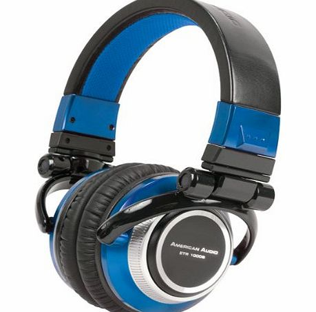 American Audio Stereo Headphone - Blue (32 Ohms, 2500mW) product image