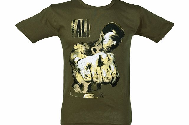 American Classics In Your Face Muhammad Ali Mens T-Shirt from product image