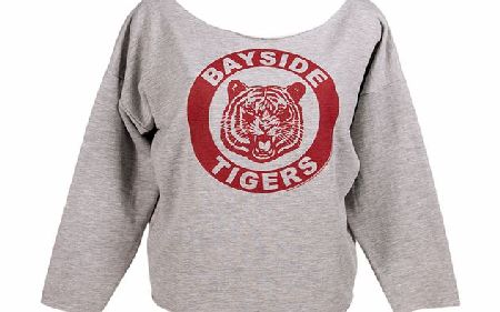 American Classics Ladies Bayside Tigers Off The Shoulder Sweater product image
