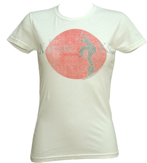 Ladies Karate Kid Logo T-Shirt from American Classics