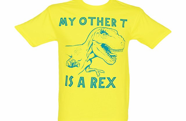 American Classics Mens Yellow My Other T Jurassic Park product image