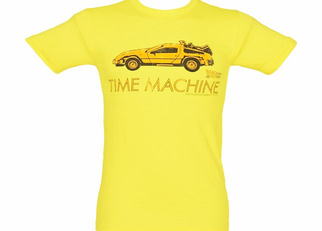 American Classics Mens Yellow Time Machine Back To The Future product image