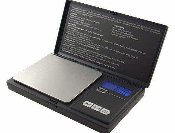 American Weigh Scales American Weigh Signature Series Black AWS-100 Digital Pocket Scale, 100 by 0.01 G product image
