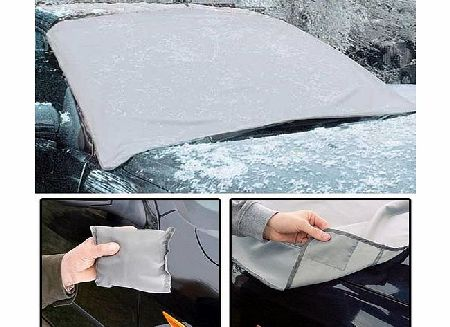Magnetic Car Windscreen Cover Universal Anti Frost Snow Ice Shield Dust Sun Shade Protector Windshield with Self Storage Bag Pouch