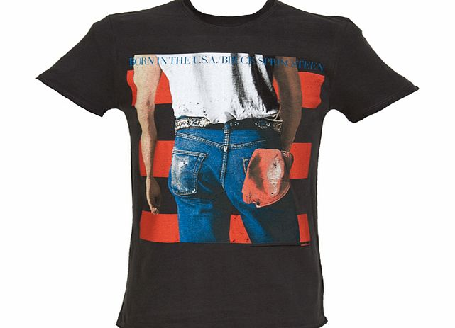 Amplified Clothing Mens Bruce Springsteen Born In The USA product image