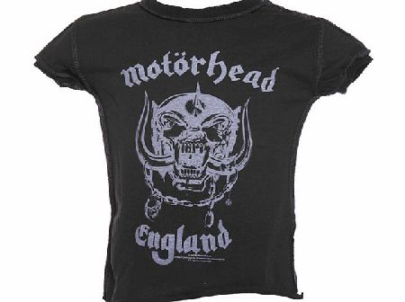 Kids Motorhead England Charcoal T-Shirt from