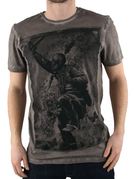 Amplified Oil Wash Medicine Man T-Shirt product image