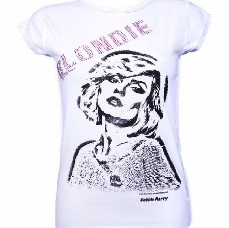 Amplified Vintage Ladies Blondie Diamante T-Shirt from Amplified