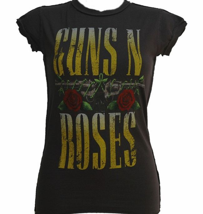 Amplified Vintage Ladies Guns N Roses Pistols T-Shirt from Amplified Vintage