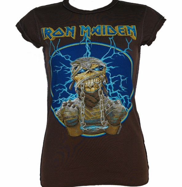 Amplified Vintage Ladies Iron Maiden Mummy T-Shirt from Amplified product image