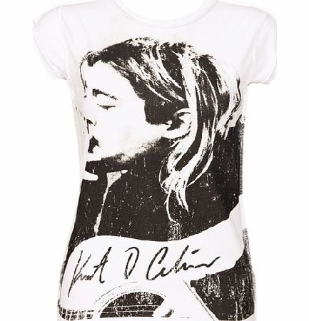 Ladies Kurt Cobain T-Shirt from Amplified Ikons