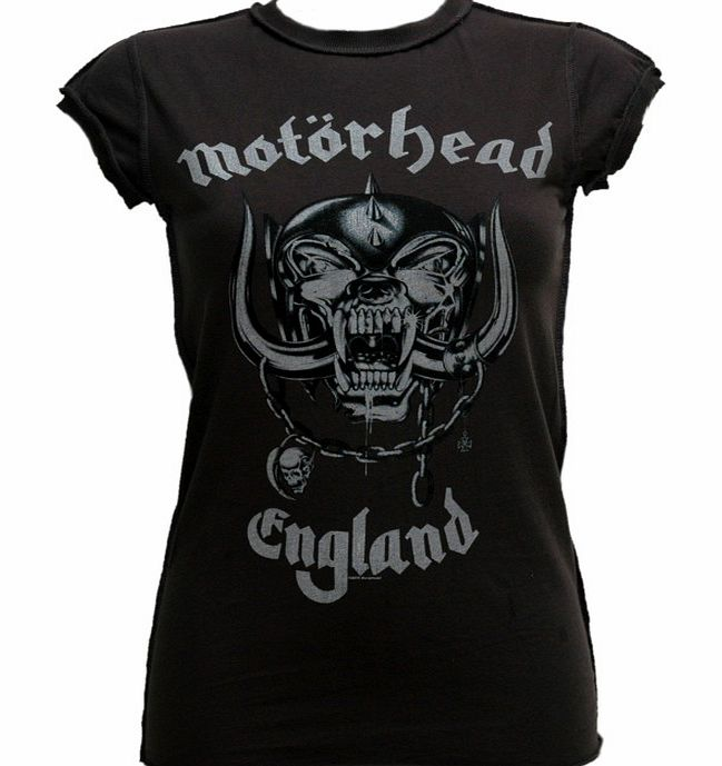 Ladies Motorhead England T-Shirt from Amplified