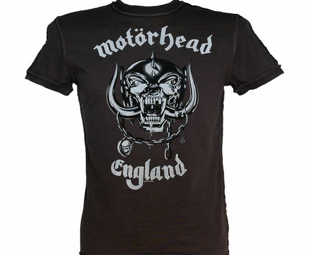 Men` Motorhead England T-Shirt from Amplified Vintage