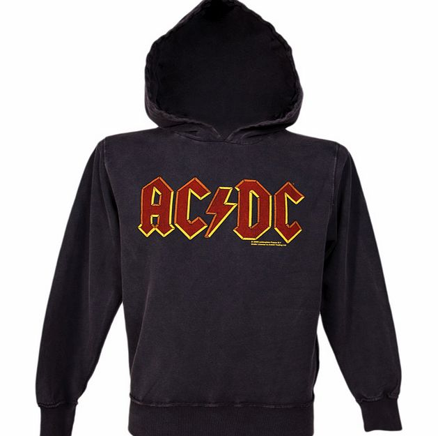 Amplified Vintage Mens AC DC Logo Hoodie from Amplified Vintage