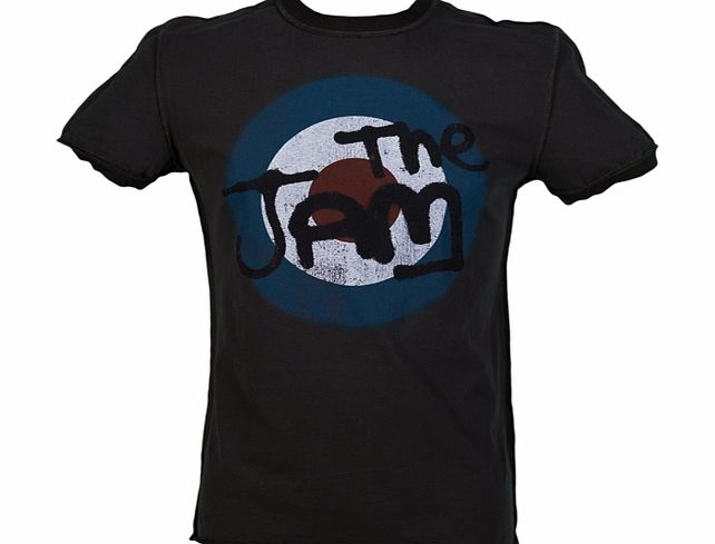 Amplified Vintage Mens The Jam Target Logo T-Shirt from product image