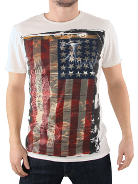 Amplified White American Angel T-Shirt product image